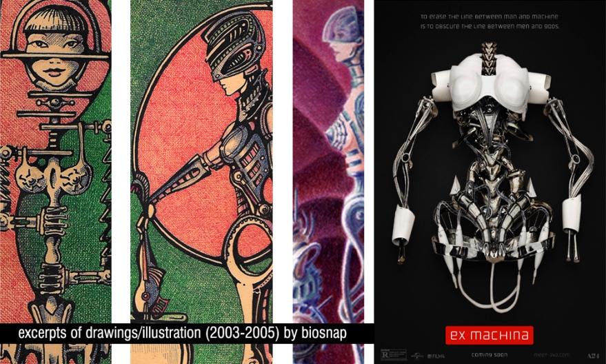 some robotic skeletons